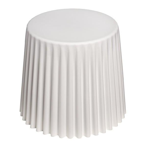 Stołek D2 Cork, biały