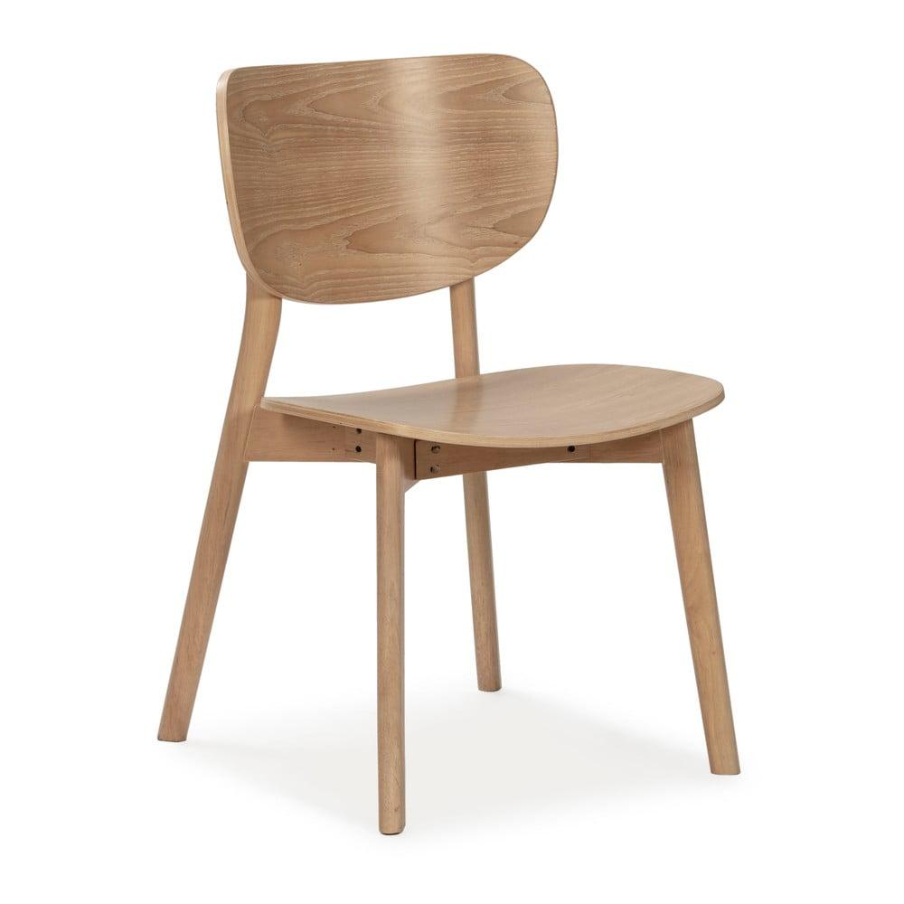 Naturalne drewniane krzesło Marckeric Azara