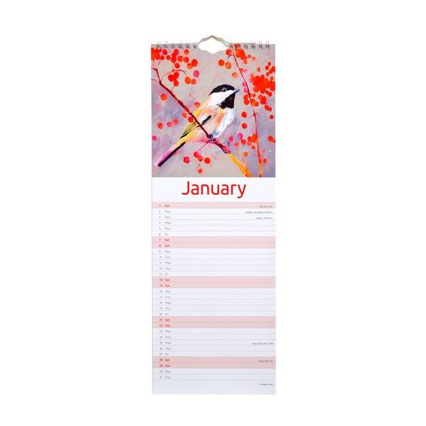 Kalendarz podłużny Portico Designs Carolyn Carter
