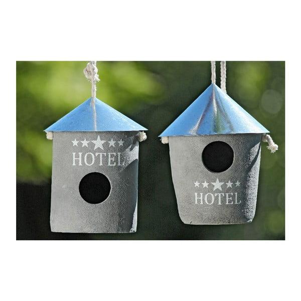Zestaw 2 karmników Hotel