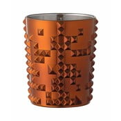 Pomarańczowa szklanka ze szkła kryształowego Nachtmann Punk, 348 ml