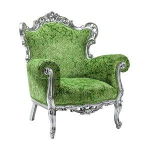 Zielony fotel Kare Design Posh
