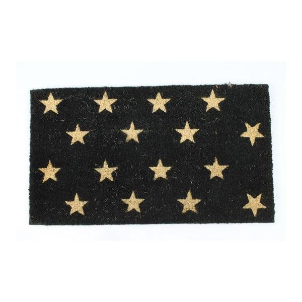 Wycieraczka Black Stars, 40x70 cm