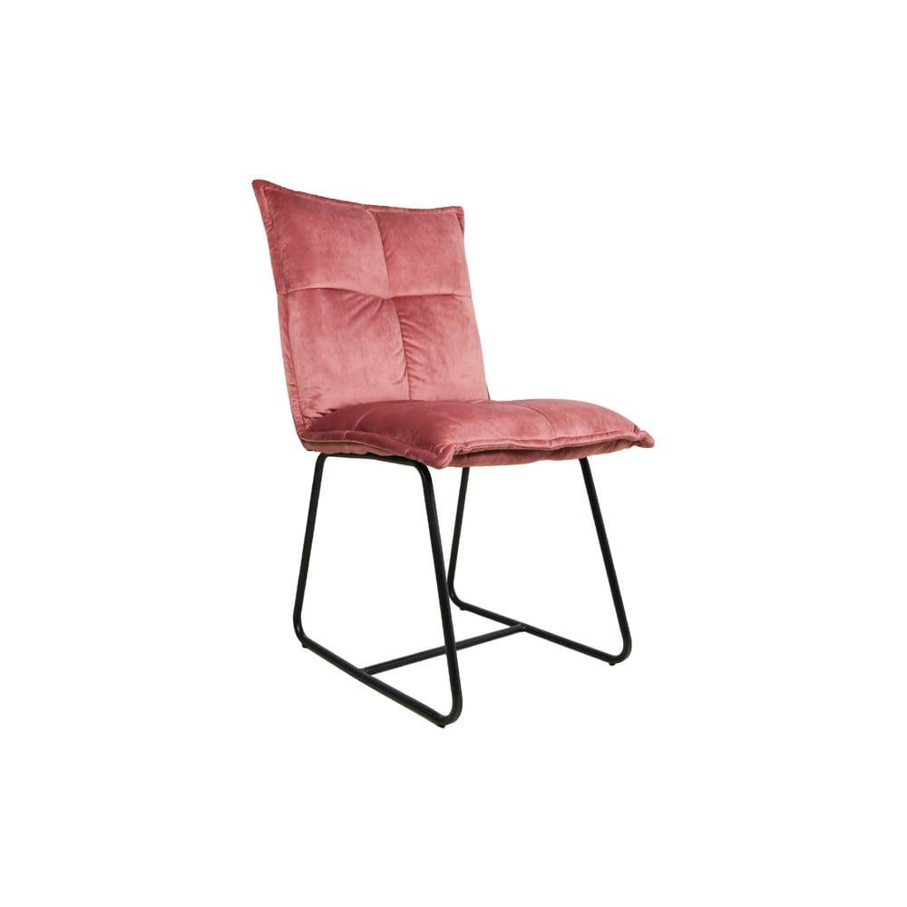 Różowe krzesło HSM collection Estelle