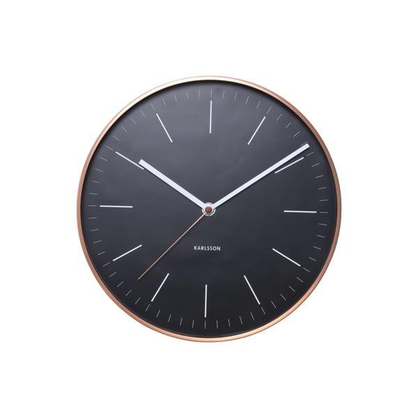 Zegar Present Time Minimal Black