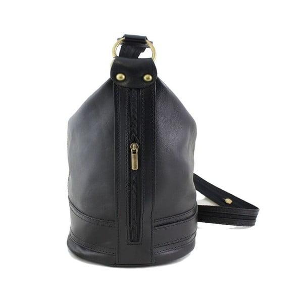 Skórzana torebka Crisana Nero