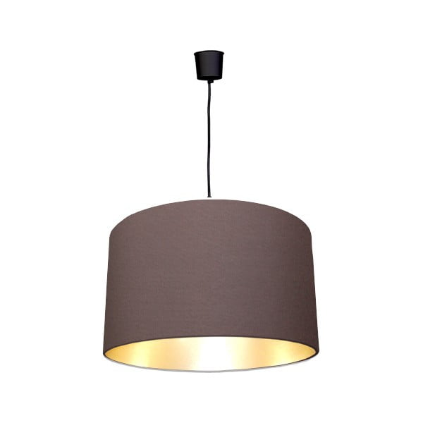 Lampa sufitowa Gold Inside One Brown