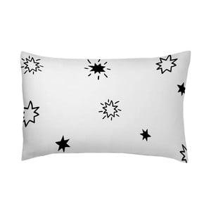Poszewka na poduszkę Estrellas Negro, 50x70 cm