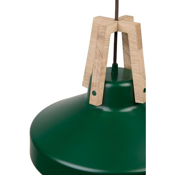 Zielona lampa wisząca Loft You Work, 33 cm