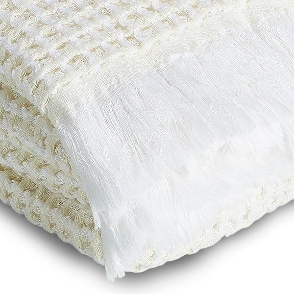 Ręcznik Whyte 100x160 cm, biało-beżowy