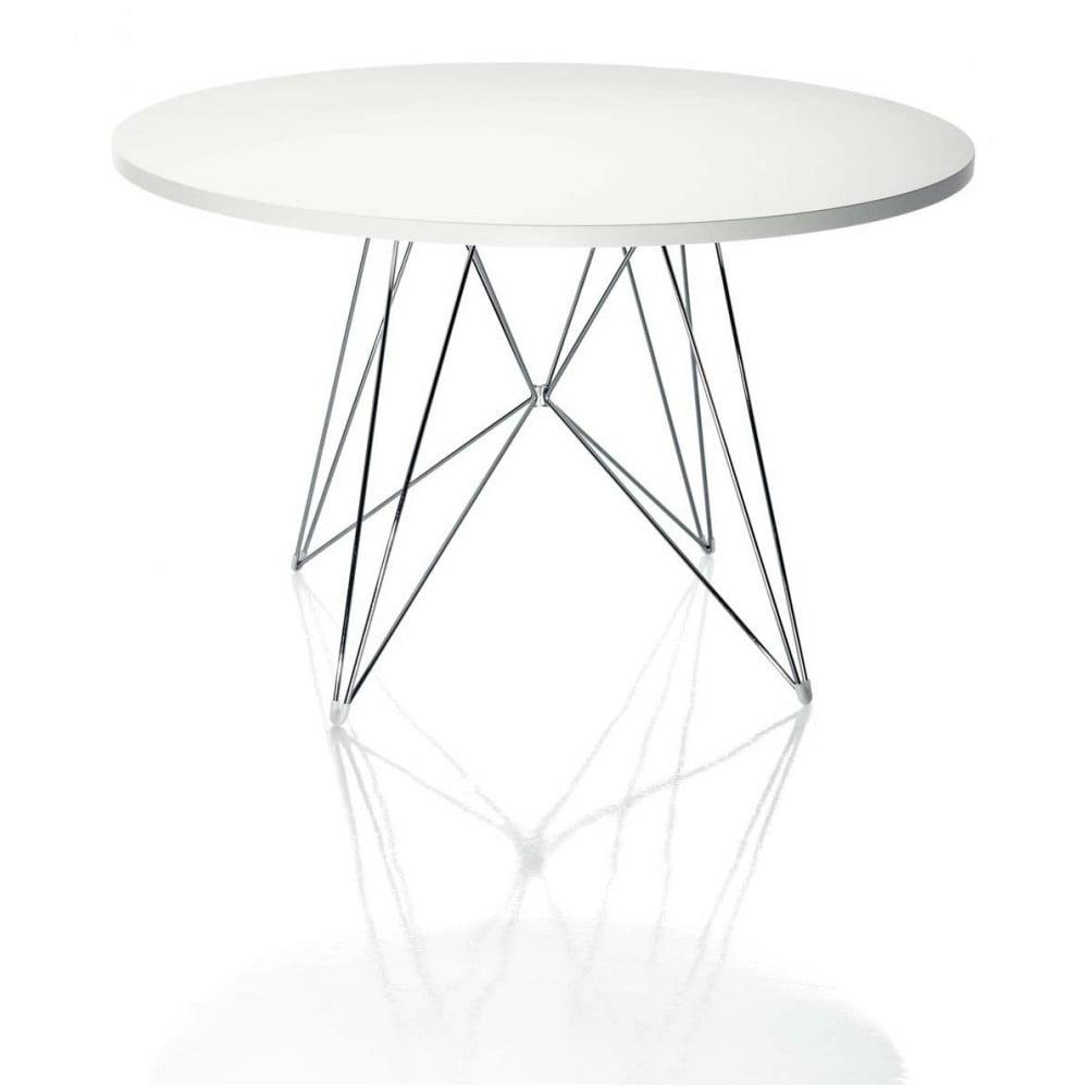 Biały stół Magis Bella, ø 120cm