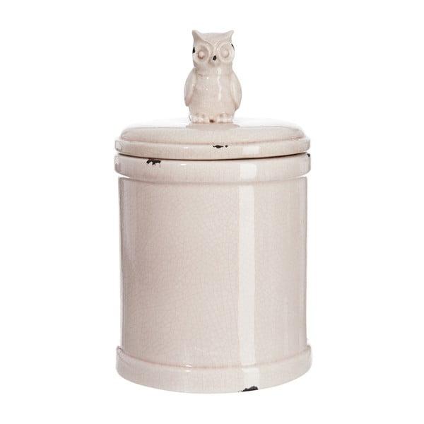 Pojemnik z przykrywką Jolipa, kremowy