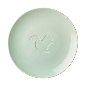 Ceramiczny talerz Animal Pastel Green