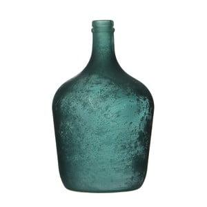 Niebieski wazon szklany Mica Diego, 30x18cm