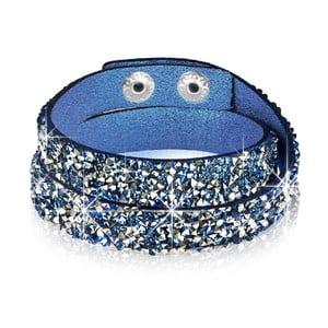 Bransoletka Blue Shine, 34 cm