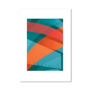 "Plakat autorski ""Guggenheim"""