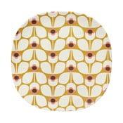 Talerz Orla Kiely Wallflower Candy, 26,5 cm