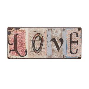 Tablica Love, 31x13 cm