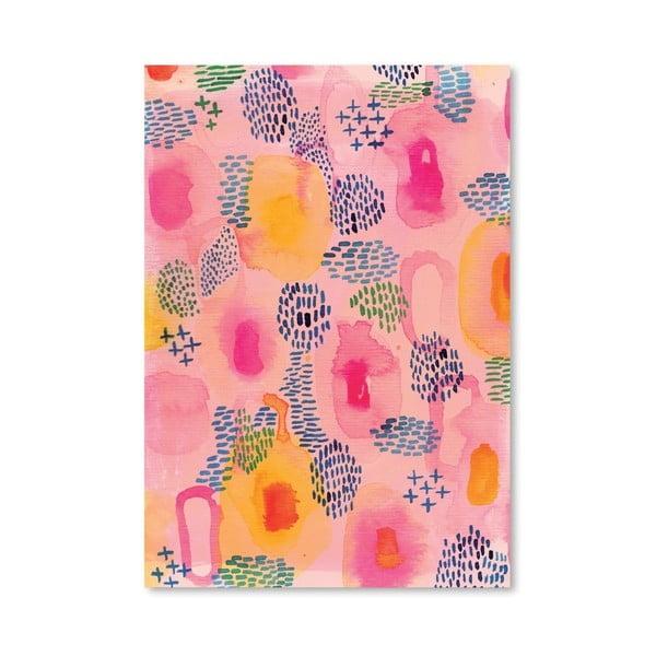 Plakat Water Colour Patterns, 30x42 cm