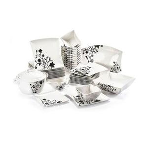 Porcelanowy komplet obiadowy 40-częściowy Duo Gift Porto