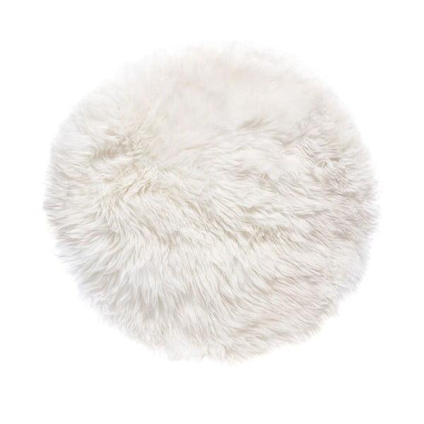 Biały dywan okrągły Royal Dream Zealand