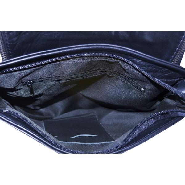 Skórzana torebka Celia, niebieska