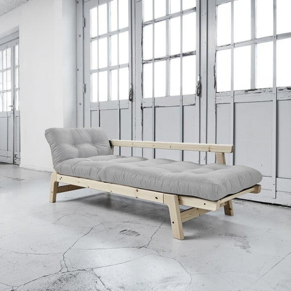 Sofa rozkładana Karup Step Natural/Light Grey