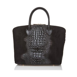 Czarna torebka zamszowa Giorgio Costa Candace