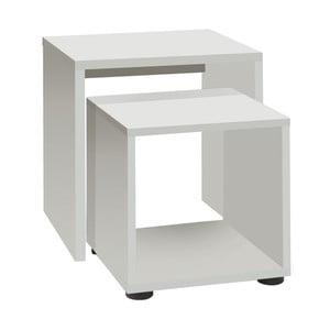 Zestaw 2 Białych stolików 13CasaStark