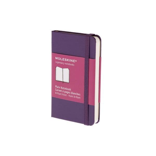 Notatnik Moleskine XS Purple, czysty