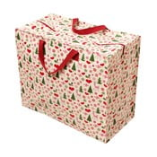 Duża torba retro na zakupy Rex London Christmas