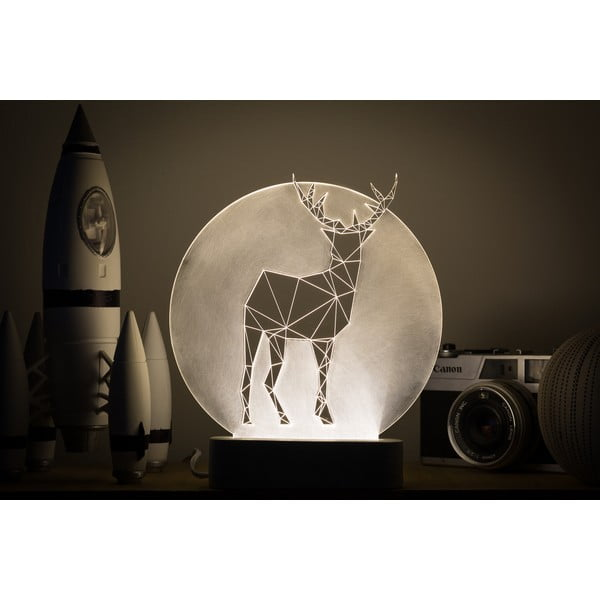 Lampka Deer Full Moon
