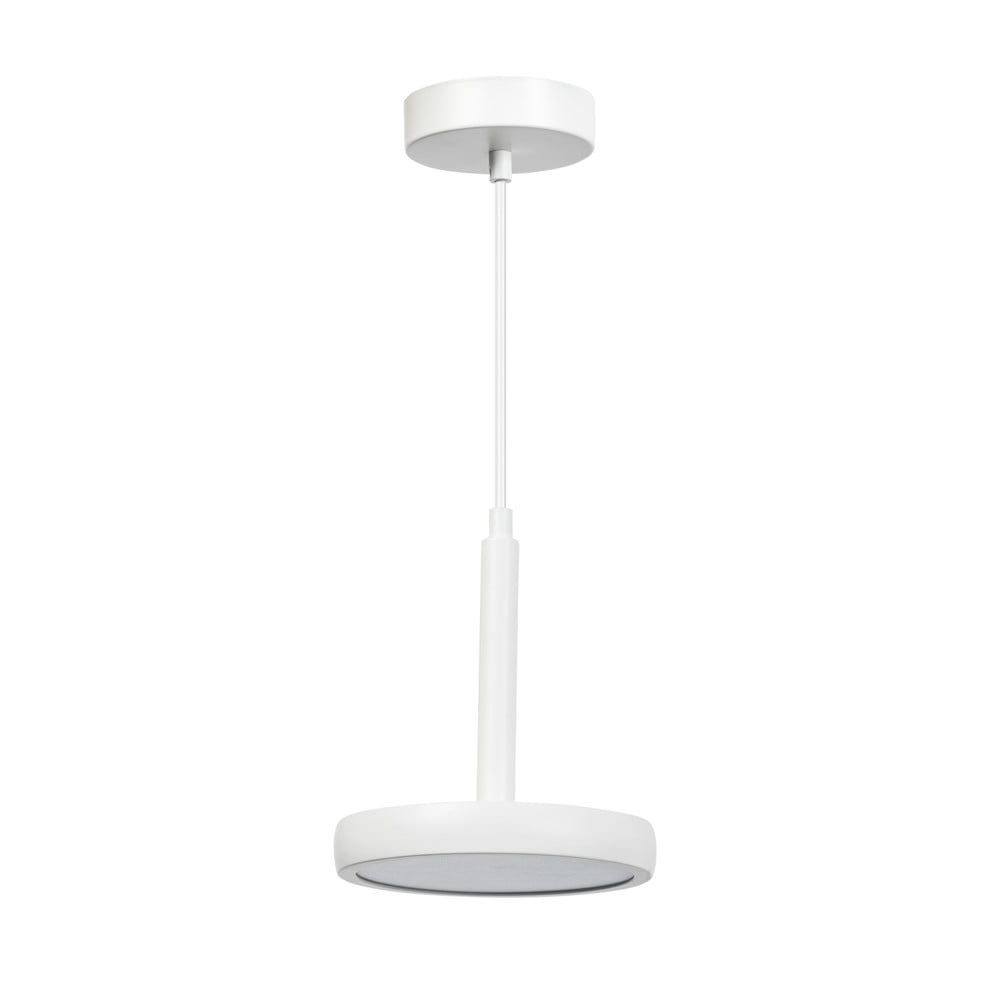 Biała metalowa lampa wisząca ETH Air