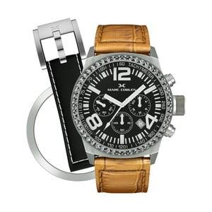 Zegarek damski Marc Coblen z dodatkowym paskiem i obręczą P72