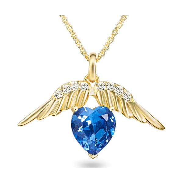 Naszyjnik ze Swarovski Elements Heart Crystal