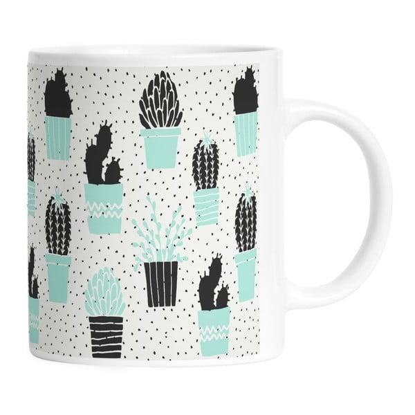 Ceramiczny kubek Cactus Planting, 330 ml