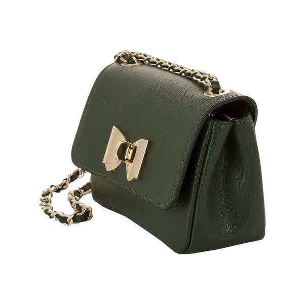 Skórzana torebka Andrea Cardone 2020 Green