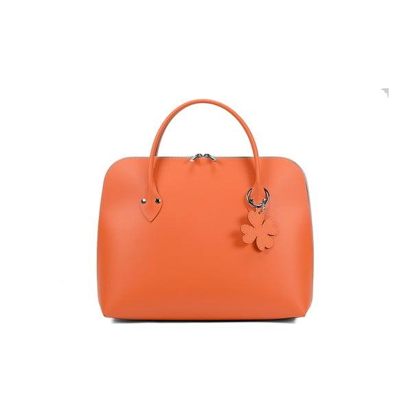 Torebka Eva Smooth Orange