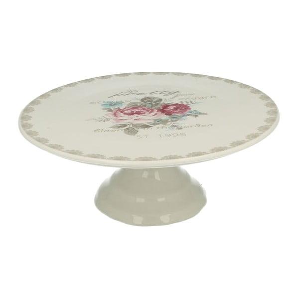 Porcelanowa patera na tort Roses