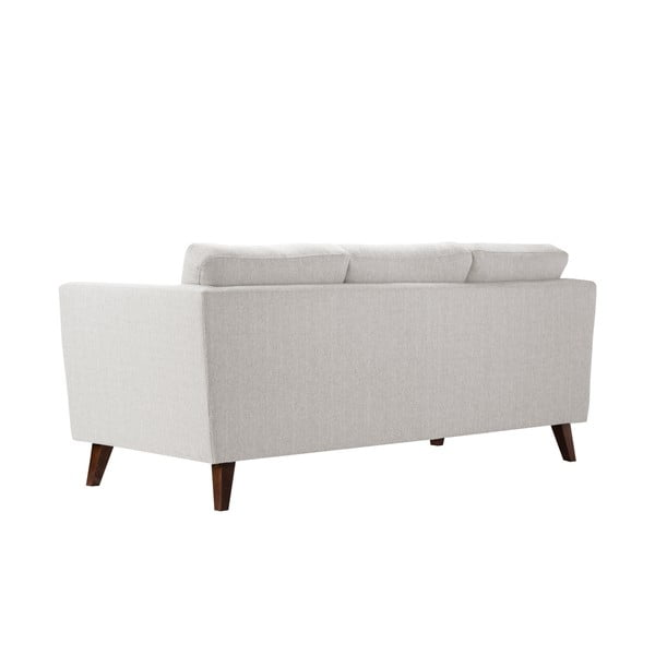 Kremowa sofa trzyosobowa Jalouse Maison Elisa