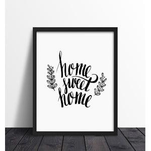 Plakat w ramie Sweet Home, 30x40 cm