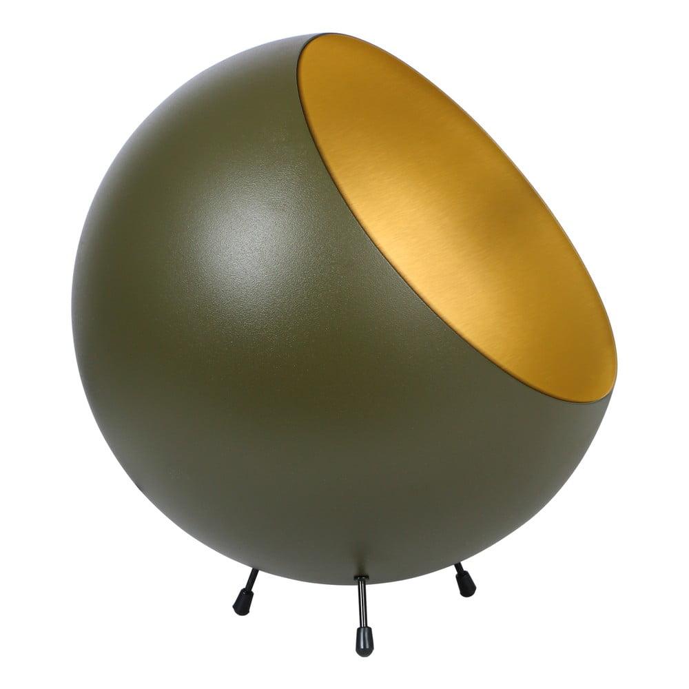 Lampa stołowa w kolorze matowej zieleni Leitmotiv Bell