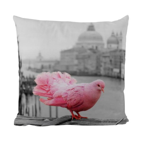 Poduszka Black Shake Pink Dove, 50x50 cm