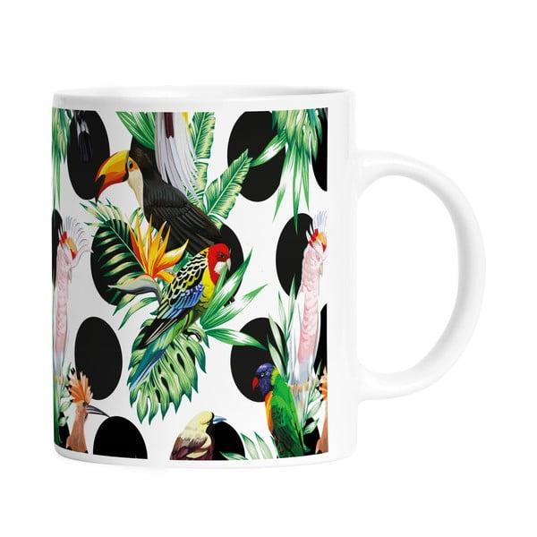 Kubek ceramiczny Dotted Jungle, 330 ml