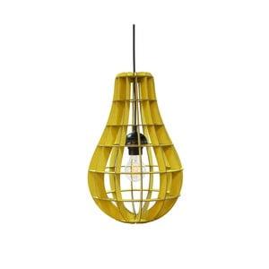 Lampa Bulbo, żółta