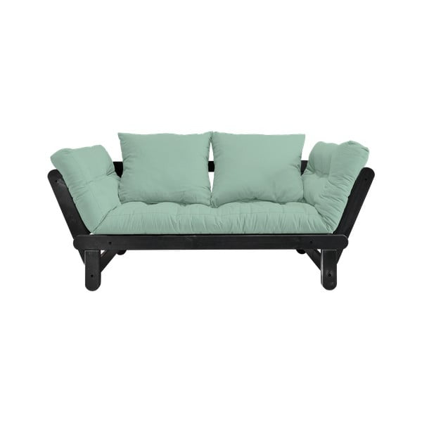 Sofa rozkładana Karup Design Beat Black/Mint