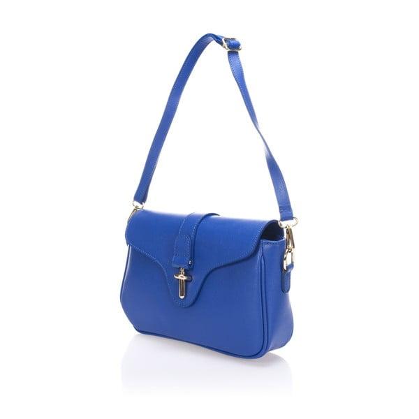 Skórzana torebka Markese 2355 Blue