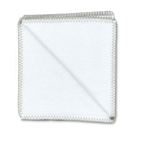 Zestaw 2 ręczników Whyte 50x90 cm, biało-beżowy