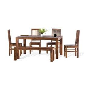 Stół z litego drewna palisandrowego SOB Margao