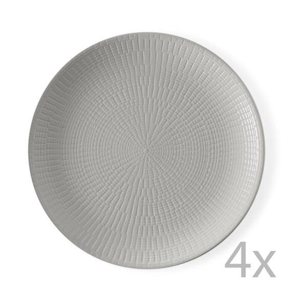 Zestaw 4 talerzy Granaglie Gris, 27 cm